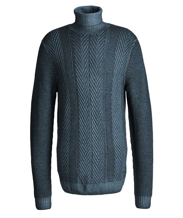 Fisherman-Knit Sweater picture 1