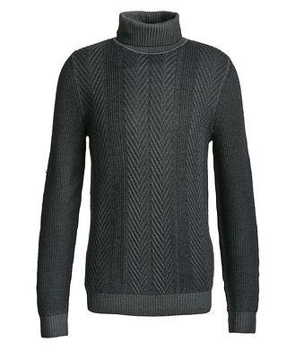Joop! Pull en tricot à côtes anglaises
