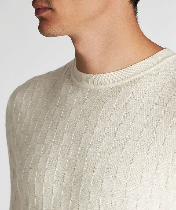 Cotton-Wool Knit Sweater image 3