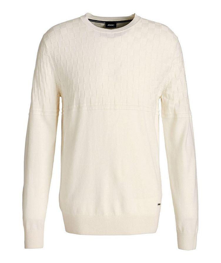 Cotton-Wool Knit Sweater image 0