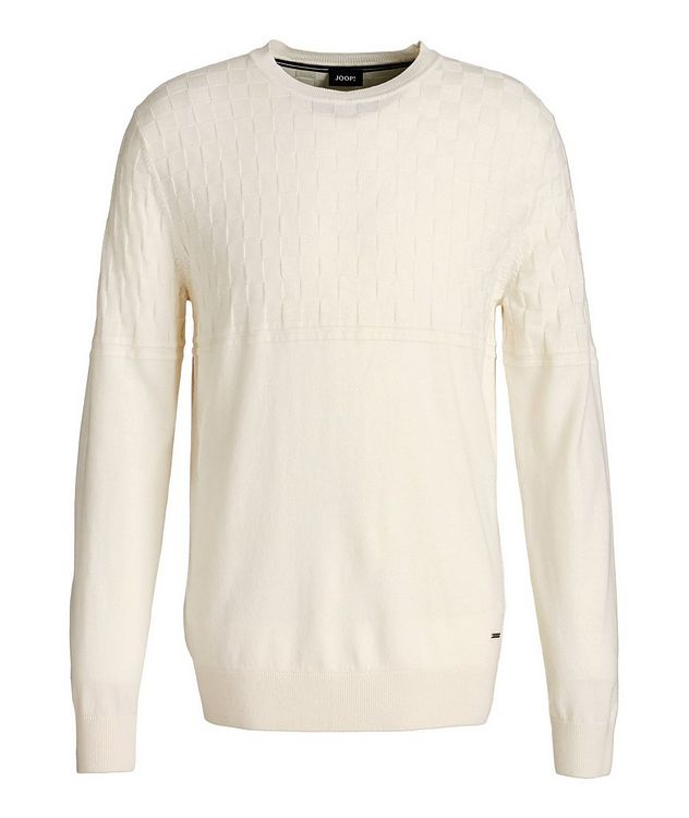 Cotton-Wool Knit Sweater picture 1