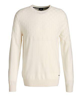 Joop! Pull en tricot de coton et laine