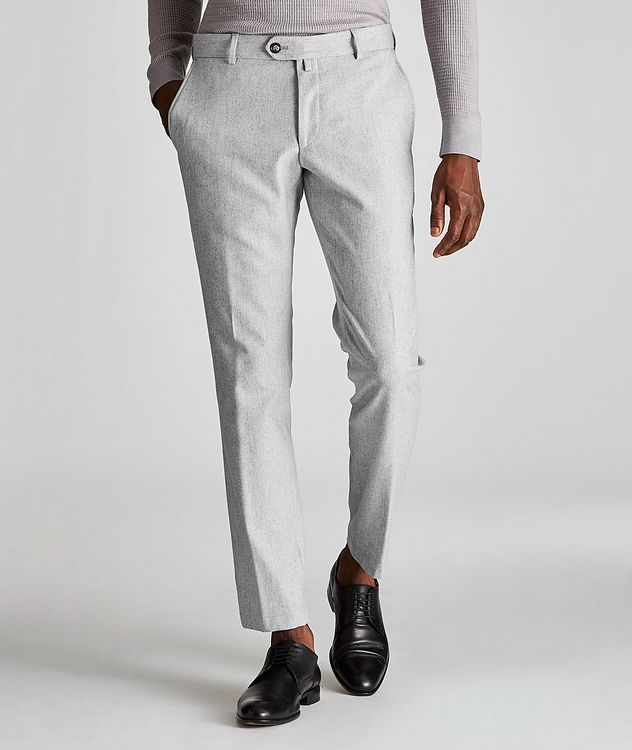 Hank Slim-Fit Wool-Blend Pants picture 1