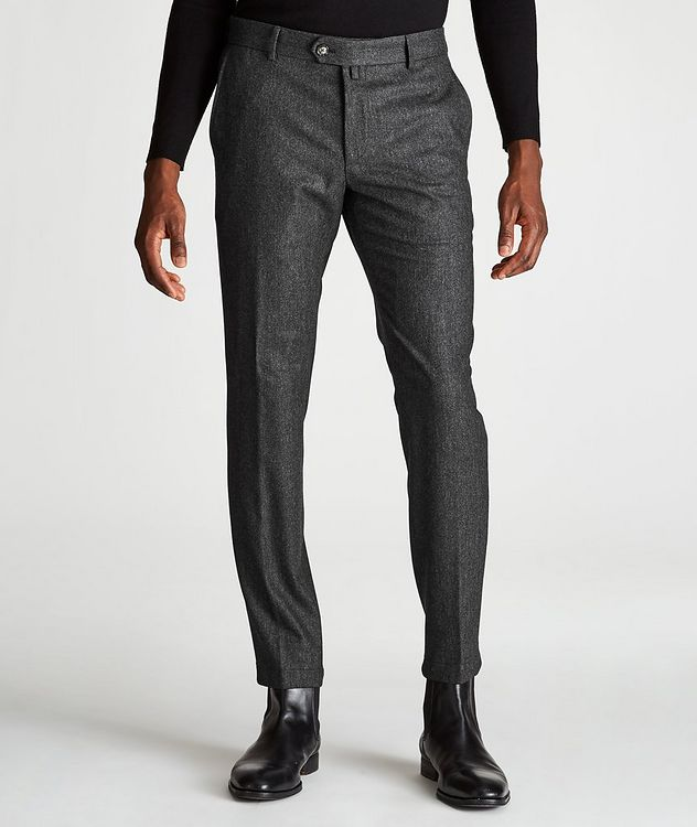 Hank Slim-Fit Wool-Blend Pants picture 1