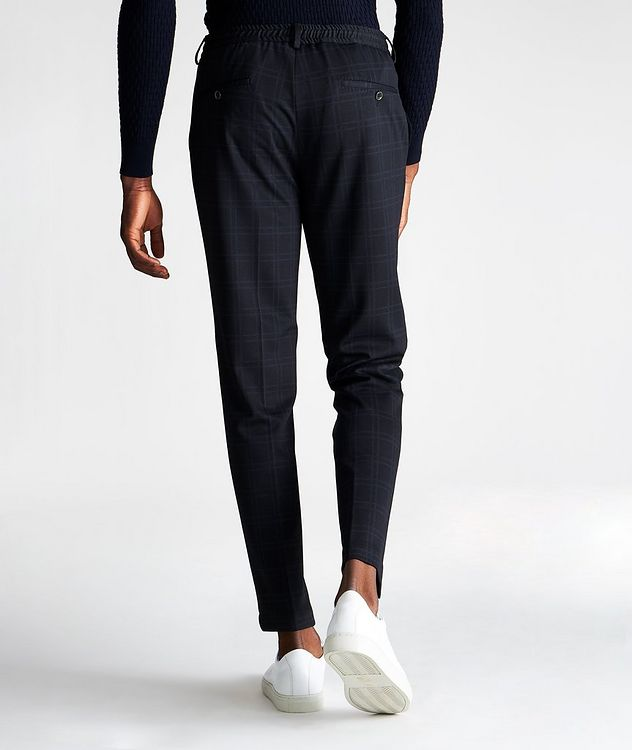 Energy Windowpane Stretch Drawstring Pants picture 2