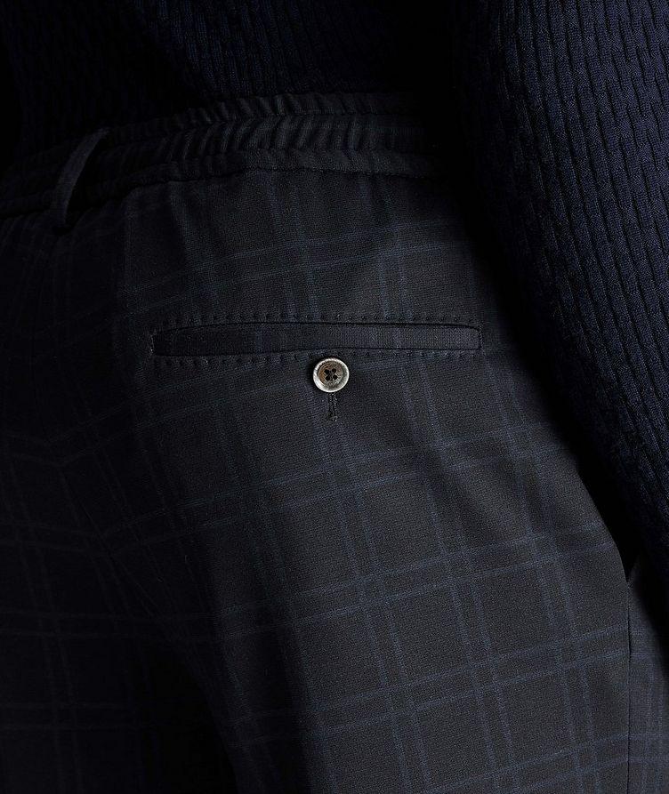 Energy Windowpane Stretch Drawstring Pants image 2