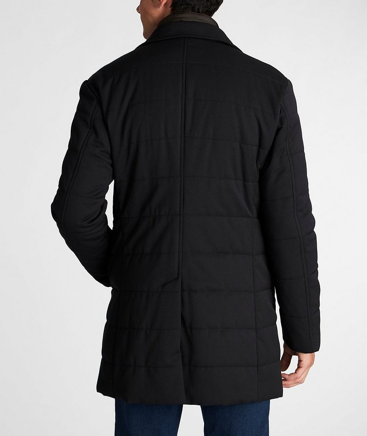Stretch-Wool Car Coat image 2