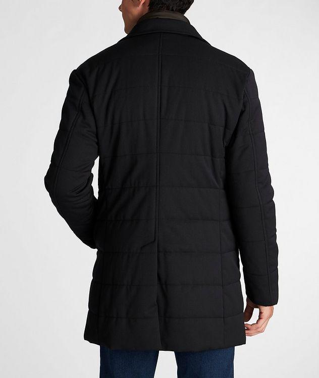 Stretch-Wool Car Coat picture 3