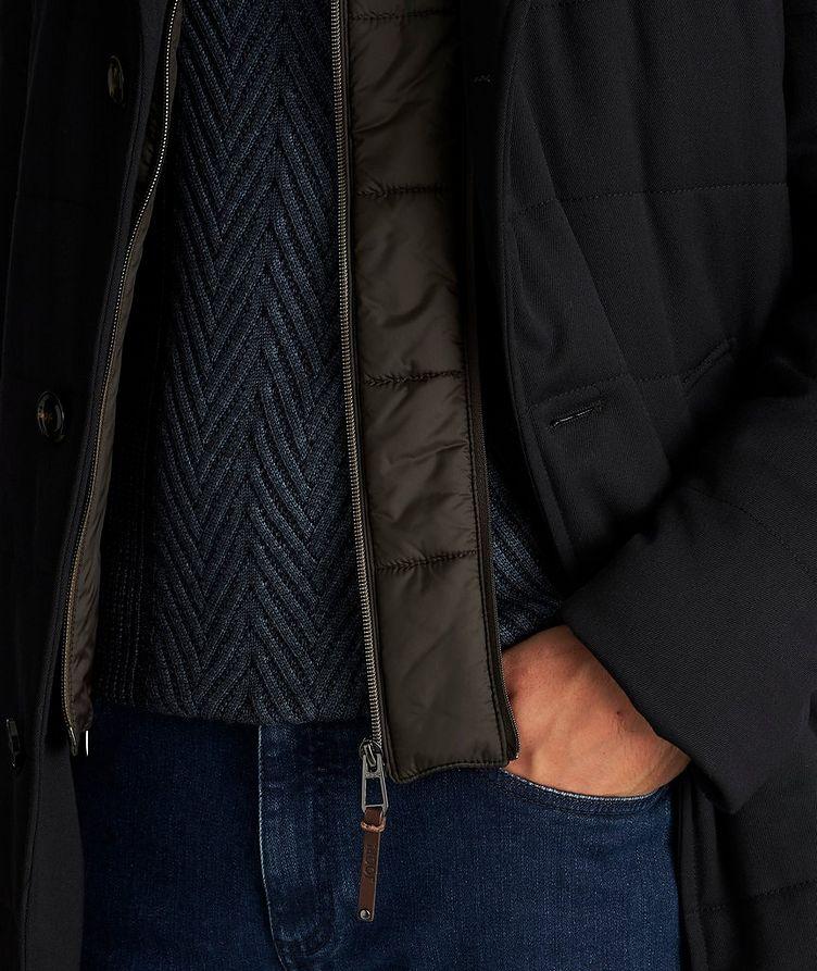 Stretch-Wool Car Coat image 5