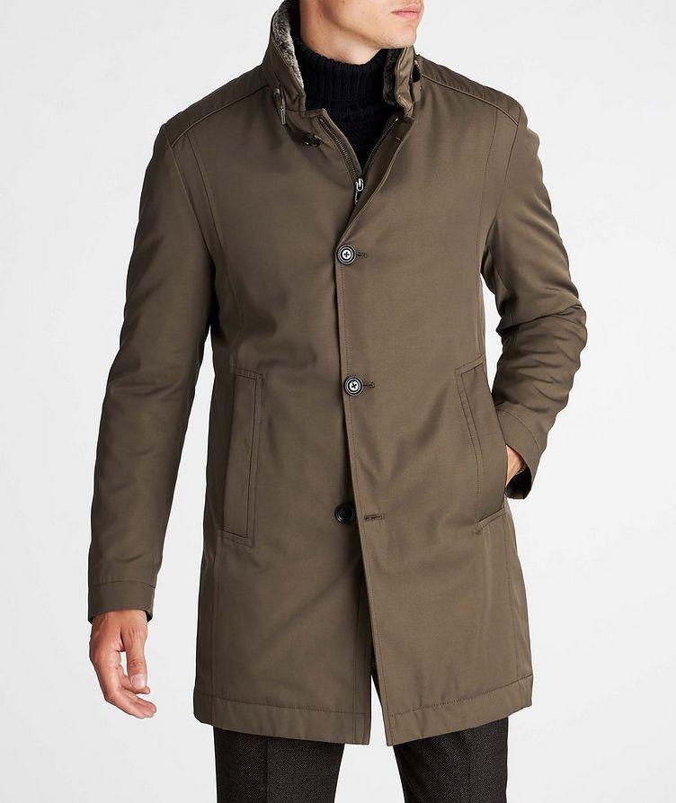 Cotton-Blend Coat image 1