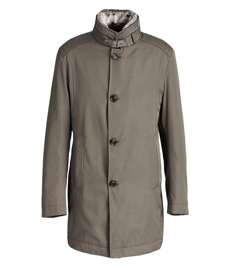 Cotton-Blend Coat image 0