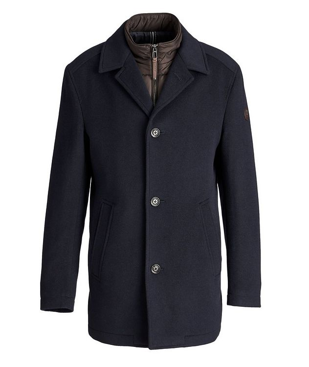 Wool-Cashmere Car Coat picture 1