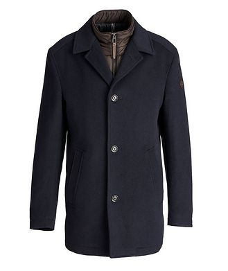 Joop! Wool-Cashmere Car Coat