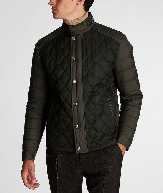 Quilted Nylon Jacket picture 2