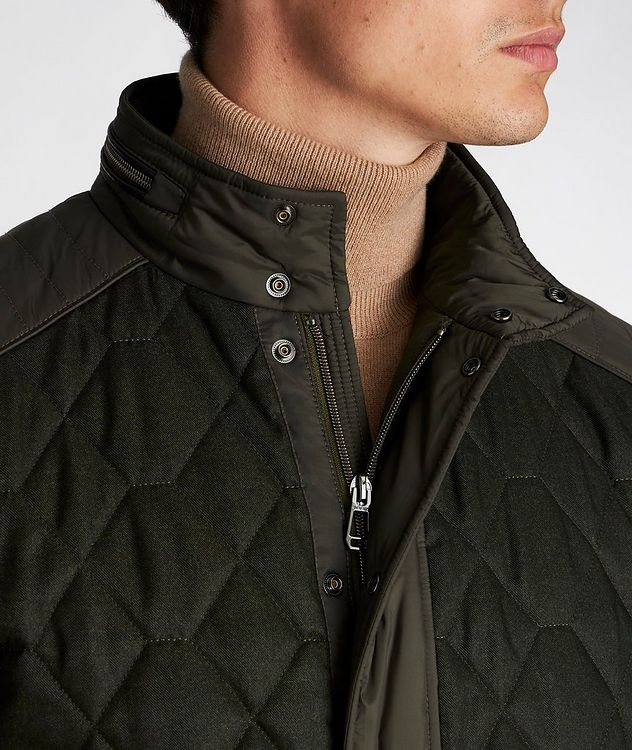 Quilted Nylon Jacket picture 4