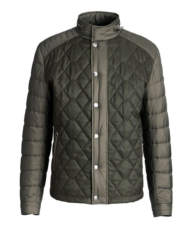 Quilted Nylon Jacket picture 1