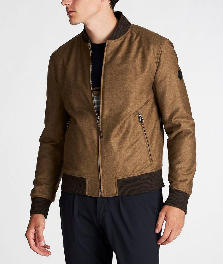Wool-Cashmere Bomber Jacket image 1