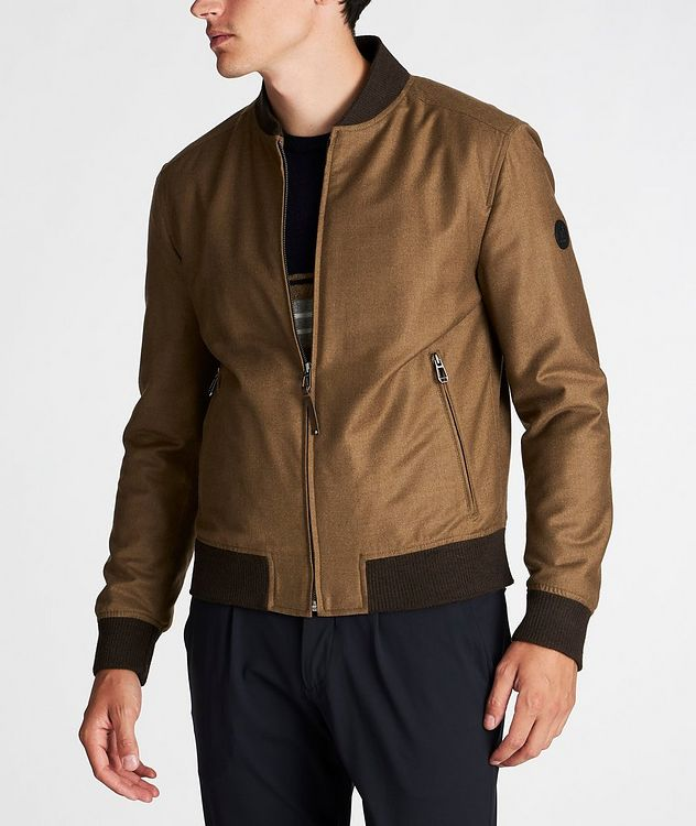 Wool-Cashmere Bomber Jacket picture 2