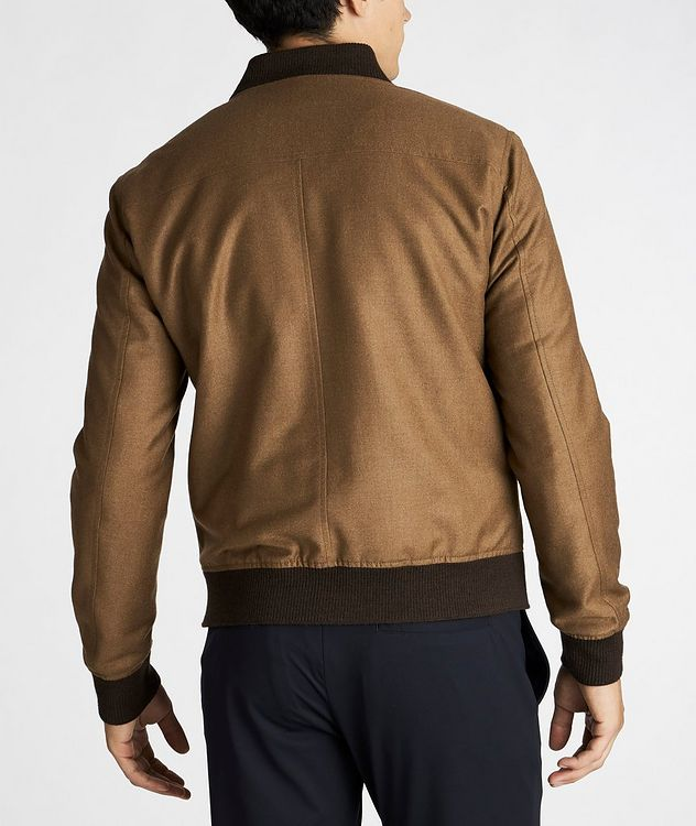Wool-Cashmere Bomber Jacket picture 3