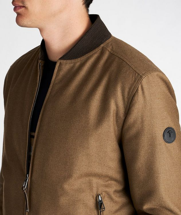 Wool-Cashmere Bomber Jacket picture 4
