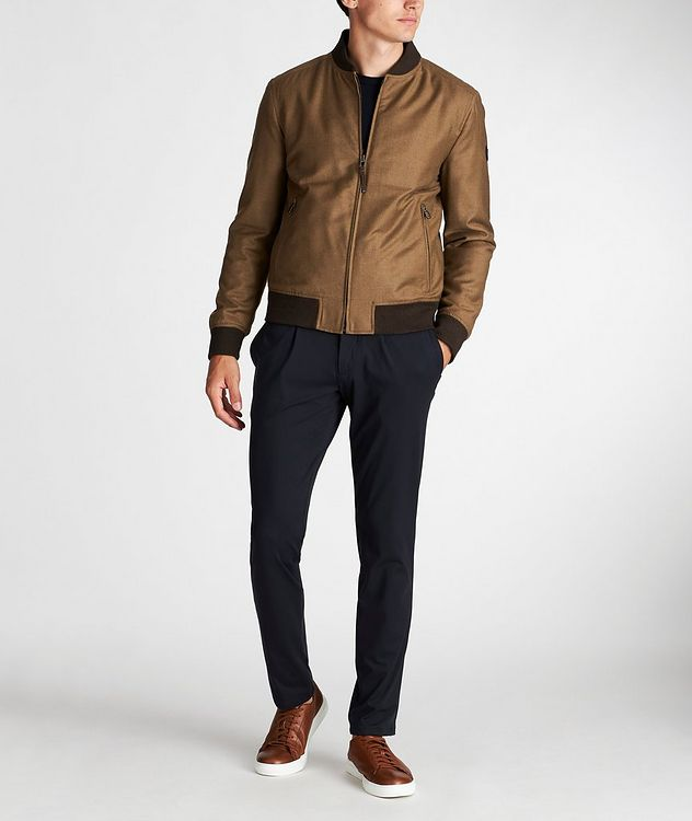 Wool-Cashmere Bomber Jacket picture 5