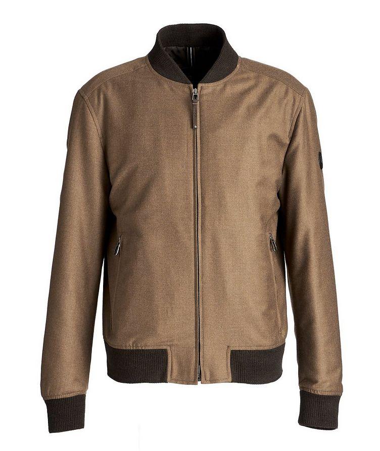 Wool-Cashmere Bomber Jacket image 0