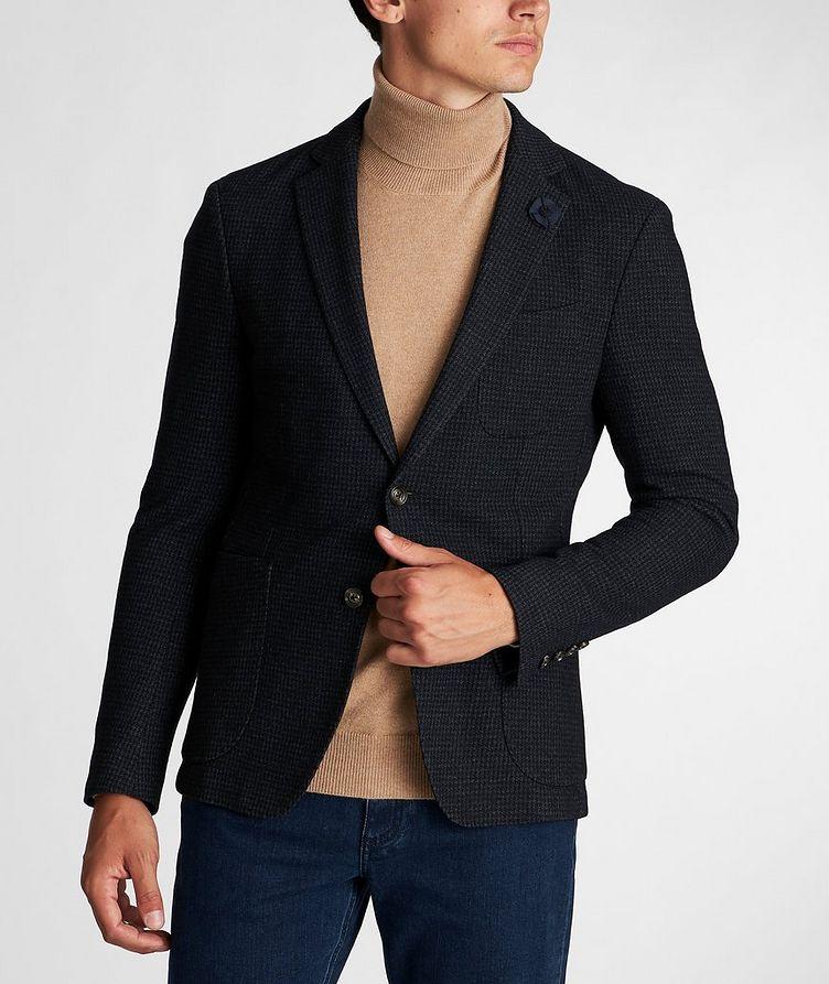 Slim Fit Houndstooth Sports Jacket image 1