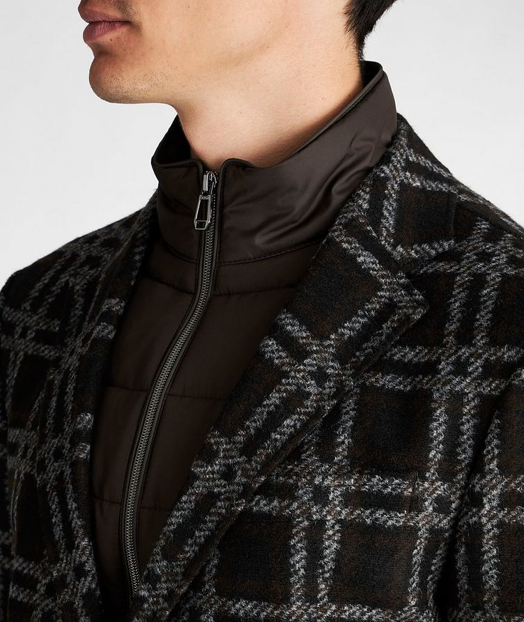 Slim Fit Checked Sports Jacket image 3