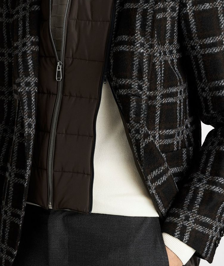 Slim Fit Checked Sports Jacket image 4
