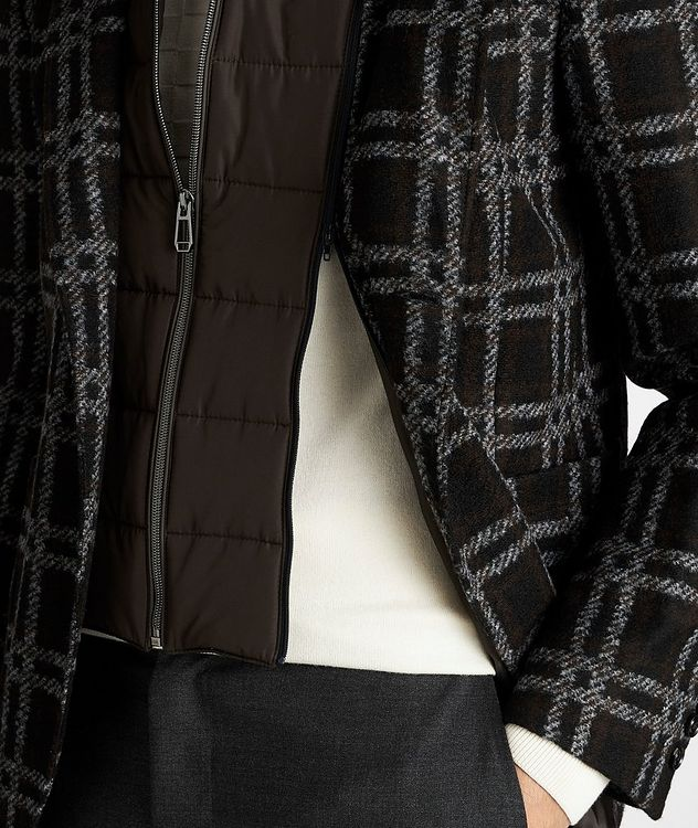 Slim Fit Checked Sports Jacket picture 5
