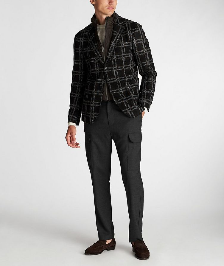 Slim Fit Checked Sports Jacket image 5