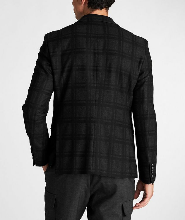 Slim Fit Houndstooth Sports Jacket picture 3