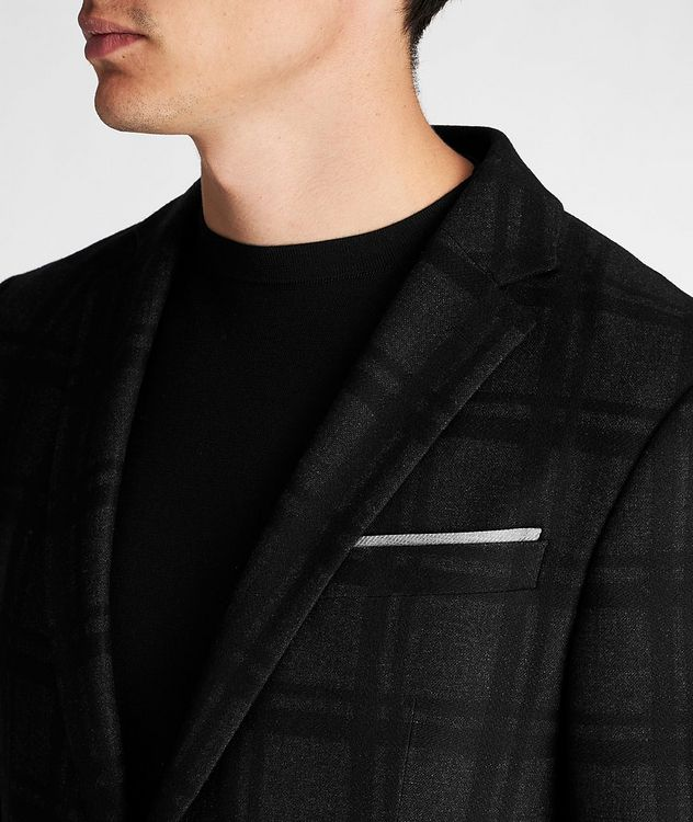 Slim Fit Houndstooth Sports Jacket picture 4