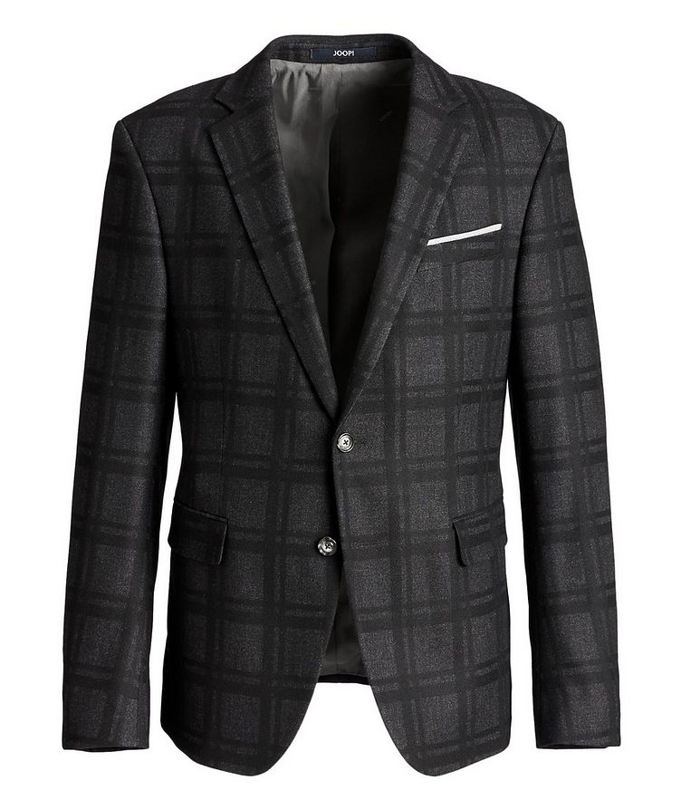 Slim Fit Houndstooth Sports Jacket image 0