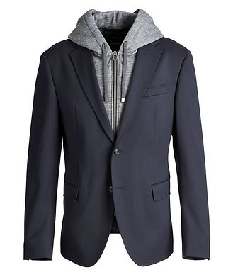 Joop! Slim Fit Stretch-Wool Sports Jacket