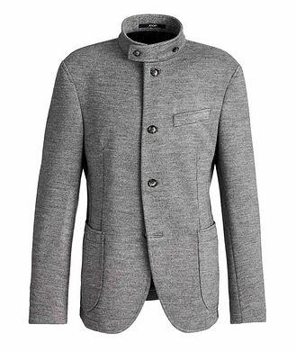 Joop! Slim Fit Virgin Wool-Blend Sweater Jacket