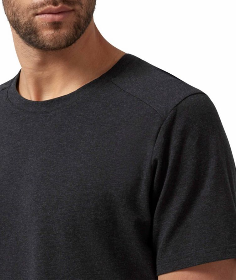 On-T Stretch-Cotton Performance T-Shirt image 4