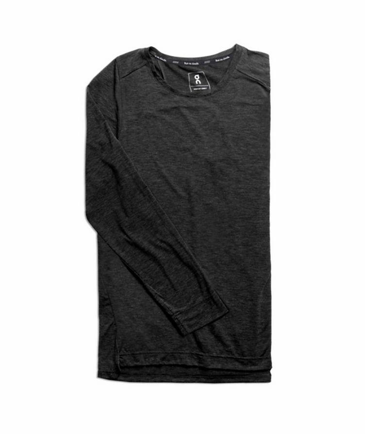 T-shirt en tissu performance à manches longues image 0