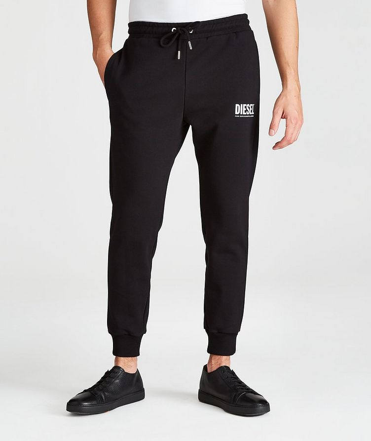 P-Tary Tapered Logo Cotton Joggers image 0