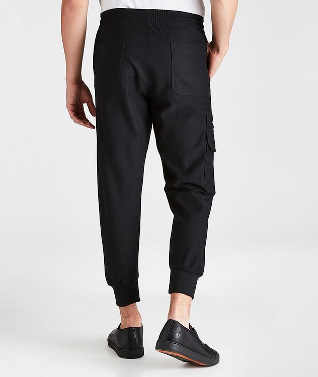 Hierro Cotton Drawstring Joggers picture 2
