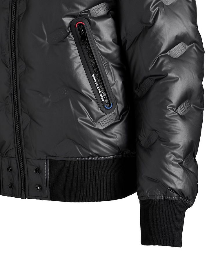 W-On-Thermo Down Bomber Jacket image 1