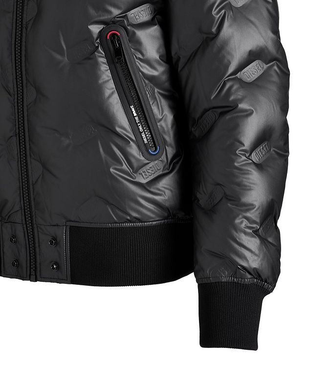 W-On-Thermo Down Bomber Jacket picture 2
