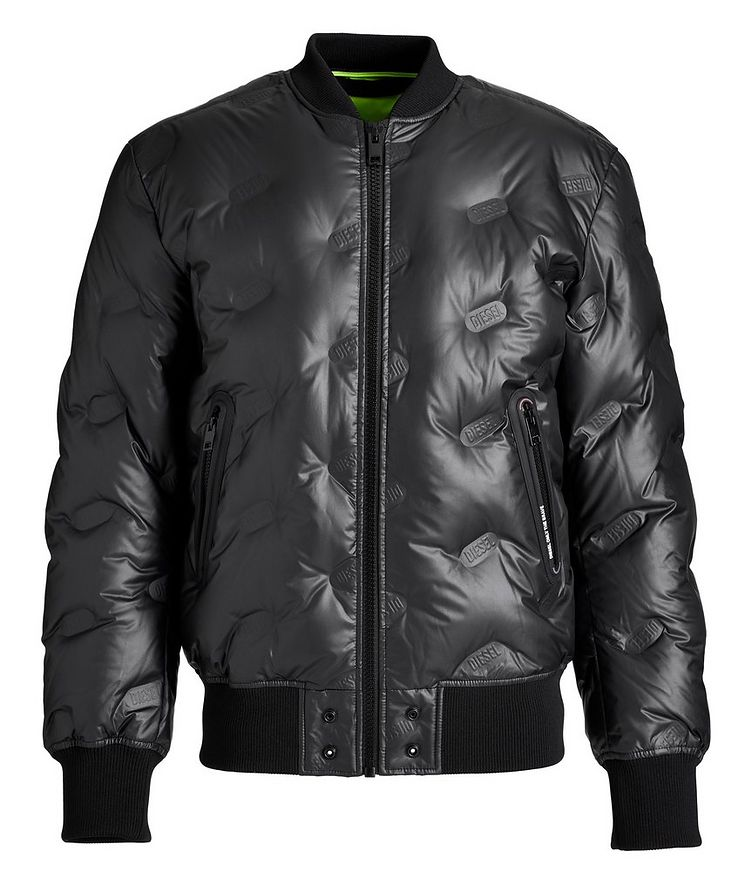 W-On-Thermo Down Bomber Jacket image 0