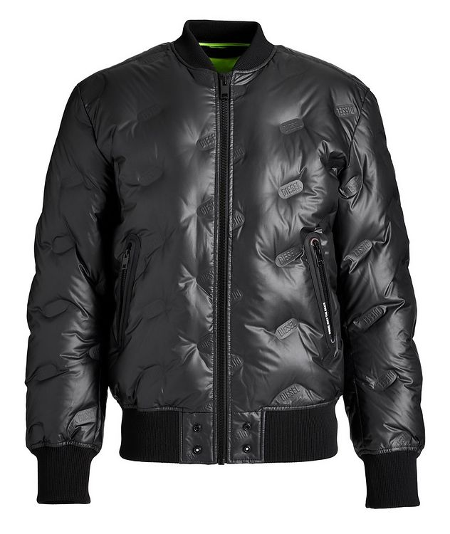 W-On-Thermo Down Bomber Jacket picture 1