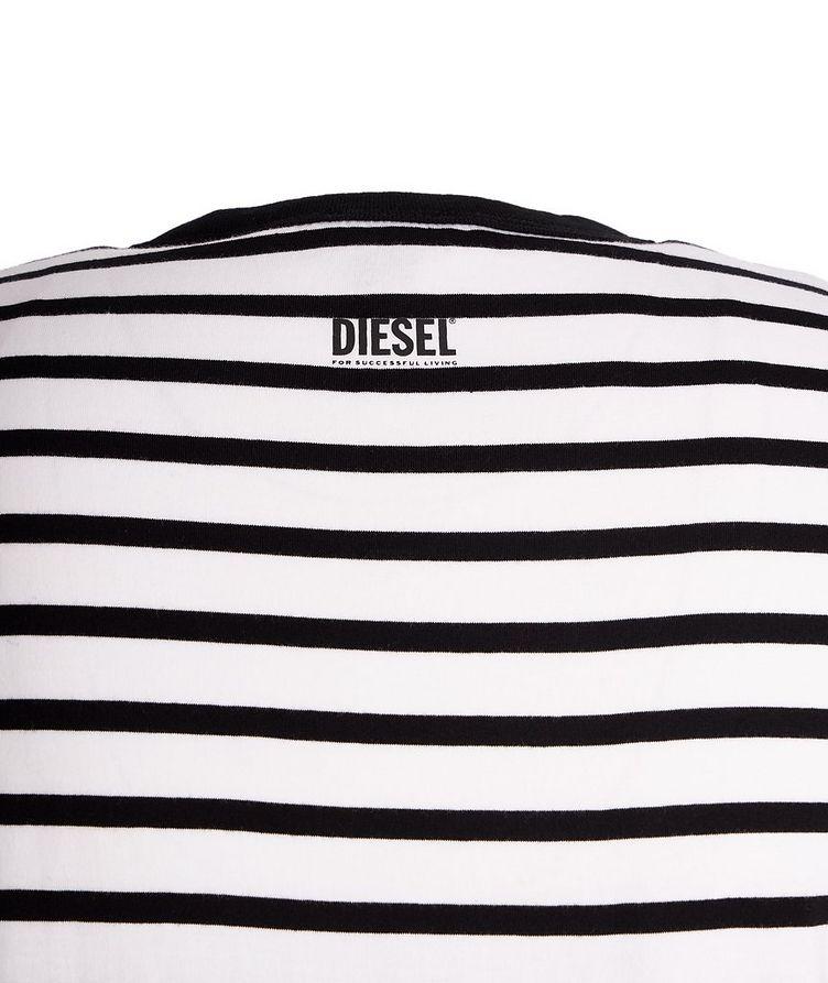Diegosco Striped Cotton T-Shirt image 2