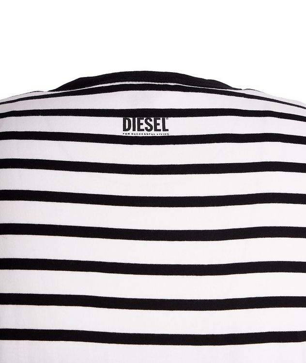 Diegosco Striped Cotton T-Shirt picture 3