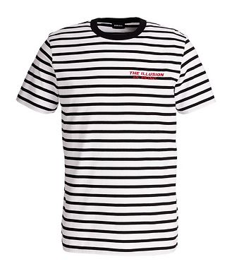 Diesel Diegosco Striped Cotton T-Shirt