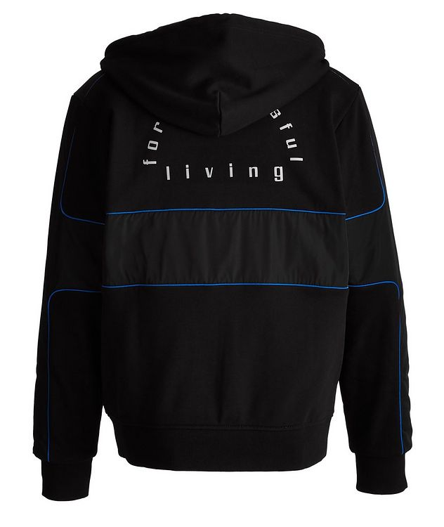 S-Lain Reflective Zip-Up Hoodie picture 3