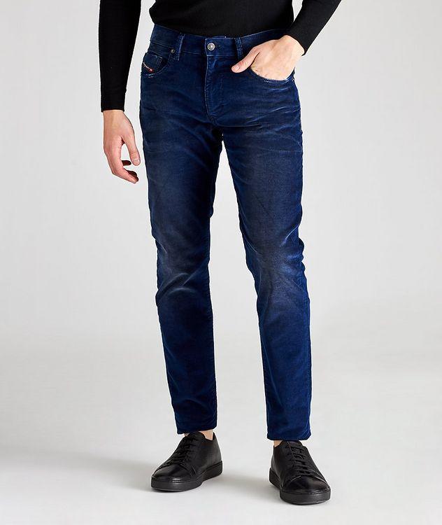D-Strukt Slim Fit Corduroy Stretch Pants picture 1