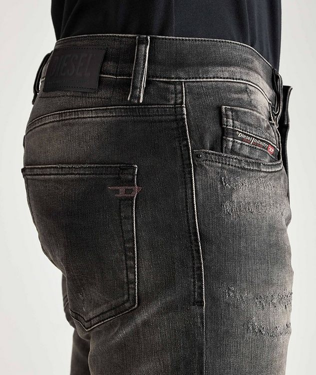 D-Strukt Slim Fit Distressed Stretch Jeans picture 3